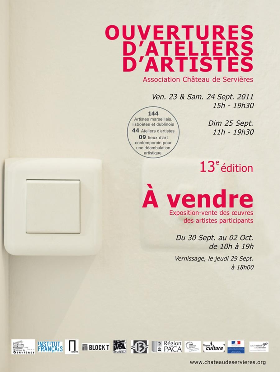 Ouvertures Ateliers Artistes 2011 & AtelieRnaTional