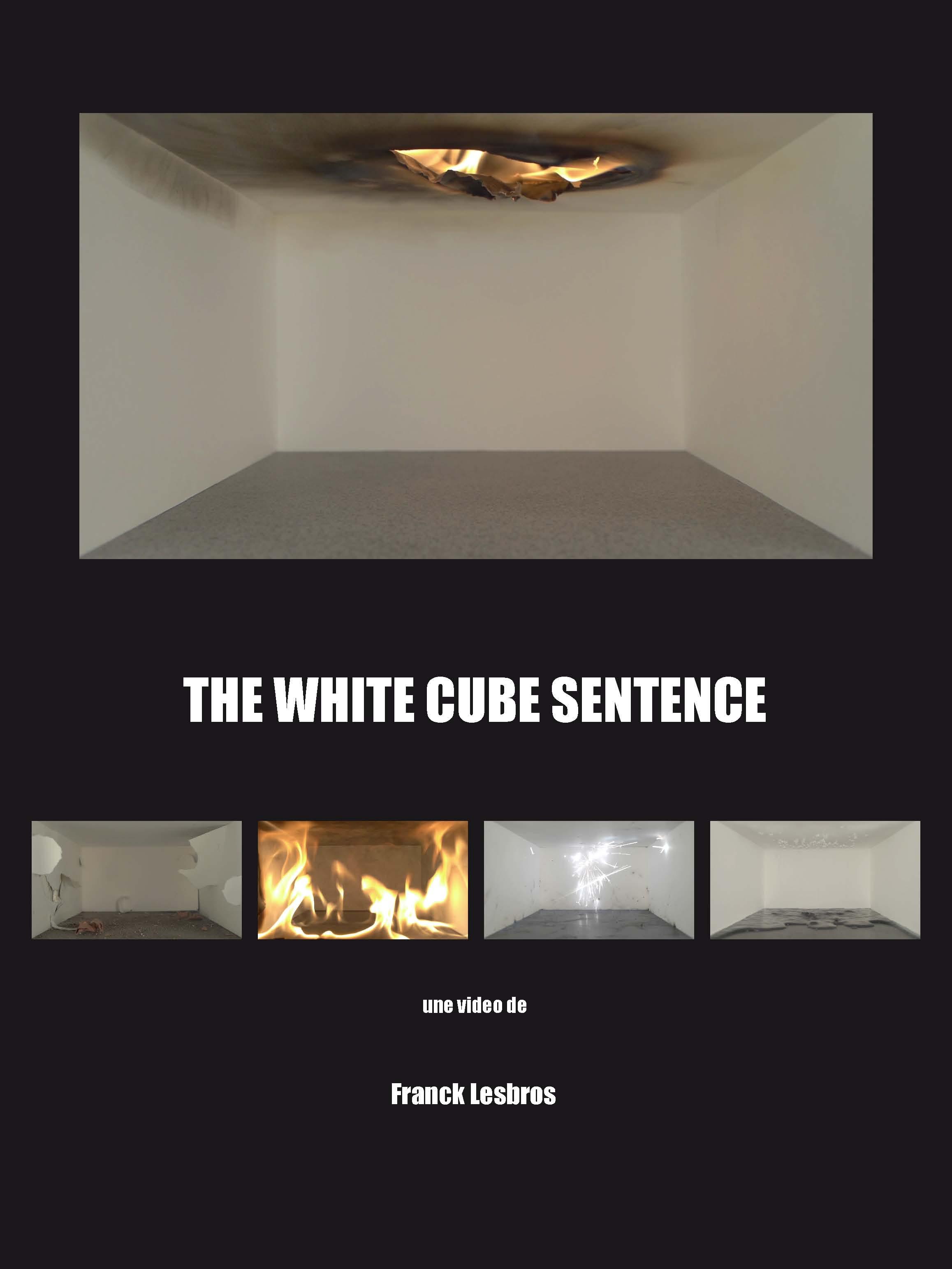 The white cube sentence , Franck Lesbros, AtelieRnaTionnal 2013